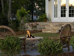 Backyard Fire Pit Design Ideas, Pictures, Remodel, and Decor
