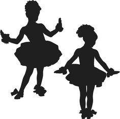 Child Tap Dancer Silhouette