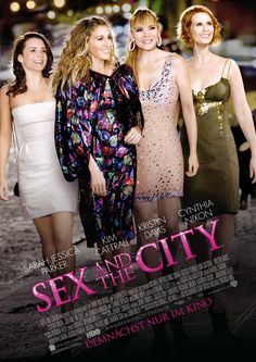 Sex and the City (1998–2004) - Stars: Sarah Jessica Parker, Kim Cattrall, Kristin Davis.  -  Four beautiful female New Yorkers gossip about their sex-lives (or lack thereof) and find new ways to deal with being a woman in the 90s.  -  COMEDY / ROMANCE