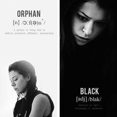 Tatiana Maslany in Orphan Black.