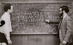 Mathematics is the hidden architecture of the universe.
