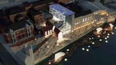 Yorks Historic Guildhall and Riverside 2nd Prize Winning Proposal / JaK Studio Architects