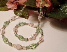 Spring Necklace $32.00 @RomanticThoughts #promofrenzyteam #jewelry #spring #pink #necklace
