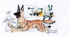 Belgian-Shepherd-Malinois-Dawg-sign-by-McCartney