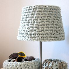 DIY Crochet Lamp (in German)