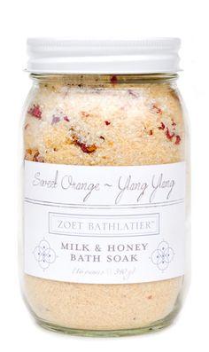 Buttermilk & Honey Bath Soak - leifshop.com