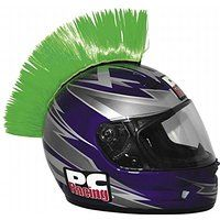 Cheap PC Racing Helmet Mohawk  Color: Green PCHMGREEN sale