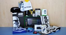 Exclusive giveaway: Over US$800 in CES 2018 prizes: Enter to win* our swag bag from CES with amazing prizes, including an Star Wars StormTrooper Robot and a RAZER Blackwidow Chroma v2 keyboard.