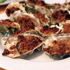 New Orleans Baked Oysters