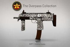 Counter-Strike Global Offensive: The Overpass Collection: MP7 Gunsmoke