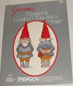 Gnome cross stitch