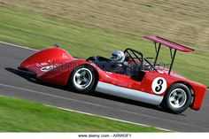 1966 Chinook-Chevrolet Mk5 at Goodwood Revival, Sussex, UK. - Stock Image