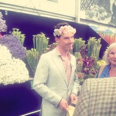I have run out of words for how sweet, funny, and adorable this man is.<<Aww he's with his mom!
