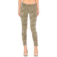 Etienne Marcel Zip Skinny Denim ($187) ❤ liked on Polyvore featuring jeans, zipper jeans, brown jeans, skinny jeans, cut skinny jeans and zip skinny jeans