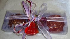 Red-Lilac Gift Set for Women with Luxury Scented Soaps & a Handmade Glass Double-Heart: Ideal for Valentine, Feast, Birthday, Mother's Day Gift Sets For Women, Handmade Soaps, Red Purple, Lotions, Valentine Gifts, Special Gifts, Baby Gifts, Lilac, Unique Gifts