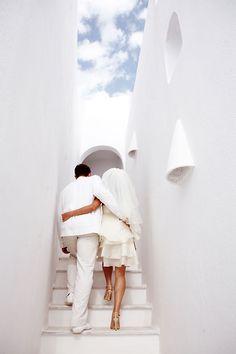 Heaven's Steps, Santorini, Greece