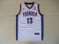 NBA Oklahoma City Thunder #13 James Harden Jersey