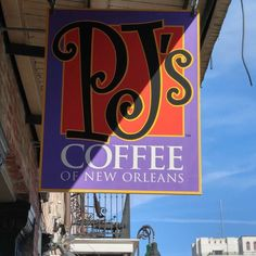 Time for #pjs coffee #nola #frenchquarter by wildjomey