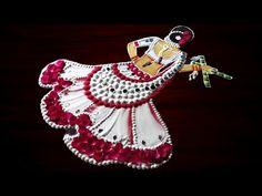 Easy Rangoli Designs Videos, Rangoli Designs Flower, Rangoli Designs Diwali, Flower Rangoli, Art Drawings For Kids, Art Drawings Sketches, Embroidery Patterns, Hand Embroidery, Sankranthi Muggulu