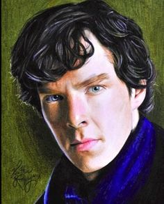 Benedict Cumberpatch by Heather Rooney