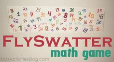 cool math game... Could use for abcs or sight words too!