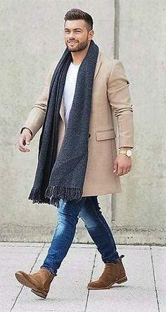 Trend of Winter wear scarf 2017 http://www.99wtf.net/young-style/urban-style/mens-denim-shirt-urban-fashion-2016/