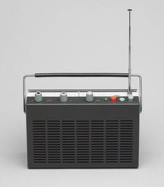 Dieter Rams. Transistor Radio (model T 580). 1961 | MoMA collection