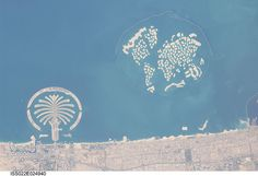Palm Island, World Island, Dubai, United Arab Emirates (NASA, International Space Station Science, 01/13/10)
