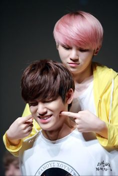 #seventeen #mingyu #woozi #kpop they are the cutest things