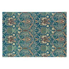 Buy Morris & Co Granada Rug, Blue Online at johnlewis.com