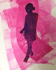 Screen print by Manon