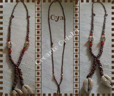 Eleke para Oya adornado con cauríes #oya #yansa #orishas #santos #religion #yoruba #afrocubano #madrid #artesanía