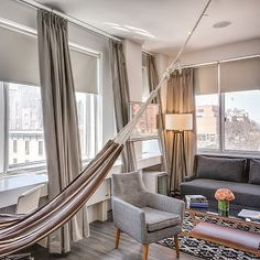 Back at the NuHotel in Brooklyn, maybe my most favorite hotel in NYC... Nicer staff than those overpriced swanky spots on the Upper East Side. Plus, $189 per night, and just across the Brooklyn Bridge from Manhattan. Love it. @madcapcottage #brooklyn #travel #style #summer2015