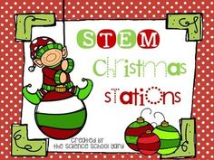 HO...HO...HO...Hoping this pack is for your little engineers! Many grade levels enjoy these hands on activities that are just in time for the holidays!Four STEM challenges are included and can be completed as stations, center time extension work, or even individually.
