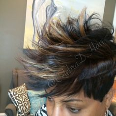 #SewingItLikeTheyGrowingIt @CelebraD.Hair Natural looking Sewin