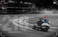 live wishper.. - piaggio vespa sprint matic 4 stroke  200cc -