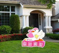 17 Best Welcome Home Baby Lawn Signs Images Welcome Home Baby