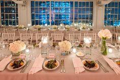 Classy and Beautiful New York Wedding from Eli Turner Studios - wedding centerpiece idea