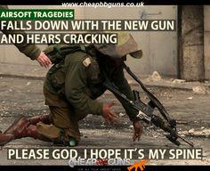 Please not the gun!