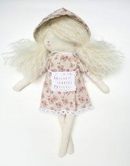 MyCuddle™ - Julia, artistic doll. Eco, organic toys, dolls and accessories, handmade in Italy