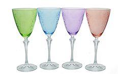 Whimsical Wine Glasses   Food