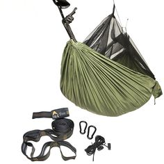 Eclypse II Camping Hammock Professional Grade Ripstop Nylon Strength - Ultra Light and Durable – Tree Friendly Straps and Bug Net For Backpacking, Hiking ** Hurry! Check out this great item : Hammock tent