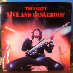 Thin Lizzy Live and Dangerous Vinyl Record 2-LP 1978 Warner Bros Psych Hard Rock Heavy Metal by vintagebaronrecords on Etsy