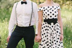 Vintage prewedding photoshoot for invitation
