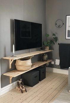 Interior Design Boards, Interior Design Living Room, Living Room Decor, Bedroom Decor, Bedroom Inspiration Cozy, Basement Makeover, Home Decor Hacks, Home Tv, Scandinavian Home