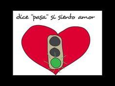 Canción infantil el semáforo del corazón trabajamos las habilidades sociales - YouTube