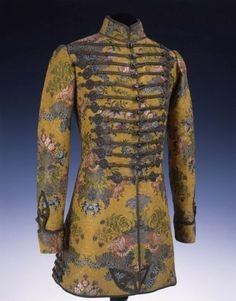 "minutemanworld: "" fashionsfromhistory: "" Dolman France & Hungary Museum of Applied Arts Budapest "" Some of that stunning century men's clothing. 18th Century Clothing, 18th Century Fashion, 1890s Fashion, Vintage Fashion, Medieval Fashion, Men's Fashion, Historical Costume, Historical Clothing, Baroque"