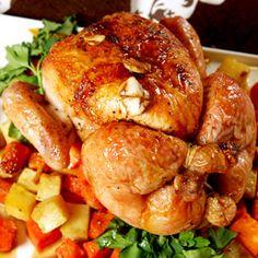 Maple Glazed Chicken with Yams