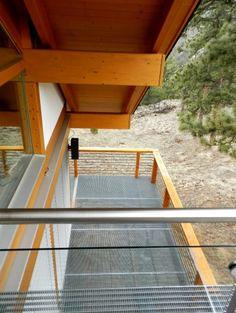 fantastic idea! metal deck grating- all moisture falls right through