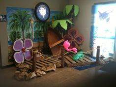 VBS decor  Son treasure Island